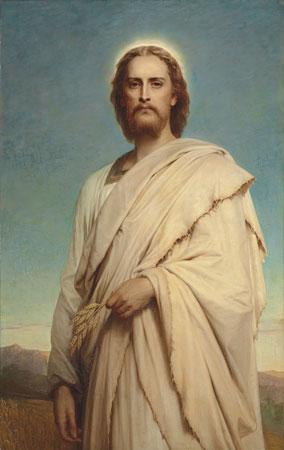 Cristo del maizal, por Frank Dicksee, 1888. [ampliar]