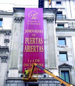 PREPARATIVOS DE LAS JORNADAS DE PUERTAS ABIERTAS DEL CONGRESO
