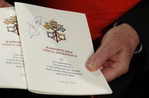 Cardinal Braz de Aviz holds final report of Vatican-ordered investigation of U.S. communities of women religious