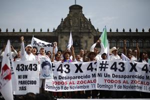 El pueblo sigue clamando justicia para los estudiantes de Iguala