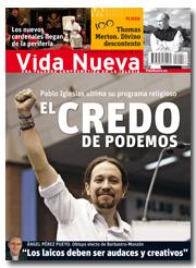 Vida Nueva portada Podemos enero 2015 p