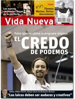 Vida Nueva portada Podemos enero 2015 G