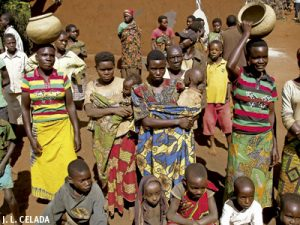 pigmeos en Burundi