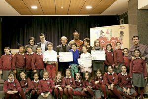 foto de familia del concurso de cuentos de la Infancia Misionera 2015