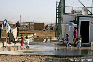 cristianos de Irak refugiados