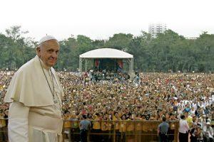 papa Francisco en Filipinas
