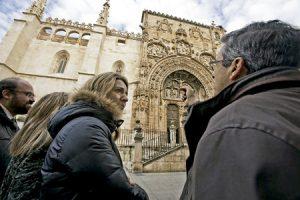 iglesia de Santa María la Real de Aranda de Duero (Burgos)