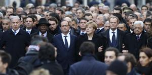 manifestacion Paris Charlie Hebdo