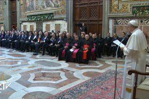 discurso del papa Francisco a los embajadores Cuerpo Diplomático 12 enero 2015