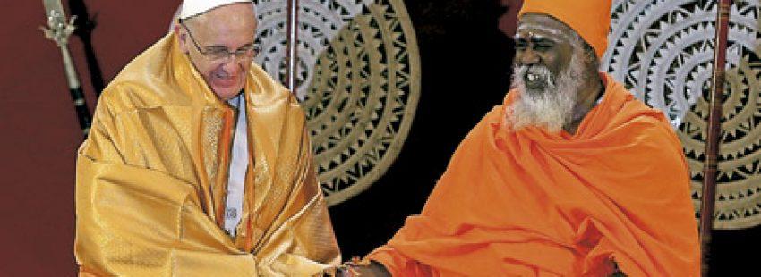 papa Francisco viaje Sri Lanka enero 2015