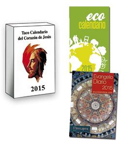 Taco de calendario, Ecocalendario y Evangelio diario de Mensajero