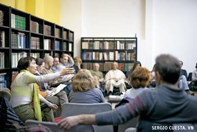 reunión del Círculo Podemos de Espiritualidad Progresista