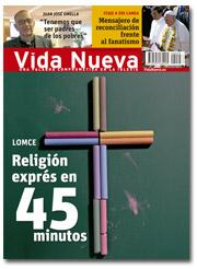 portada Vida Nueva Religión en la escuela enero 2015 2925 p