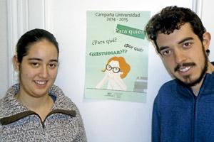 Carmen Ledesma y Álvaro Mota, de la JEC