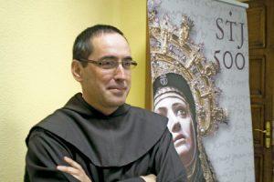 Miguel Márquez, superior provincial de la Provincia Ibérica de Santa Teresa de Jesús de los carmelitas descalzos