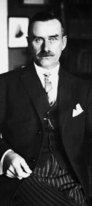 Thomas Mann, autor de La montaña mágica
