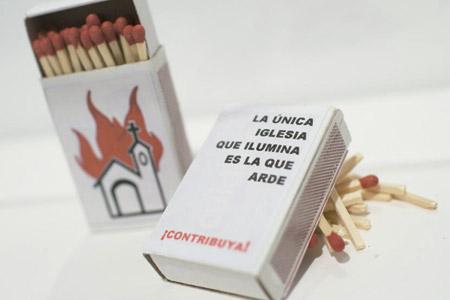Cajita de fósforos, obra de 2005 del Colectivo de Mujeres Públicas expuesto en el Museo Reina Sofía en 2015