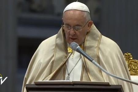consistorio para la creación de nuevos cardenales 14 febrero 2015 imagen del Centro Televisivo Vaticano