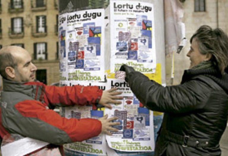 iniciativa de Gesto por la Paz en el País Vasco contra el terrorismo
