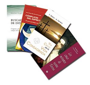 varios libros editados por Publicaciones Claretianas