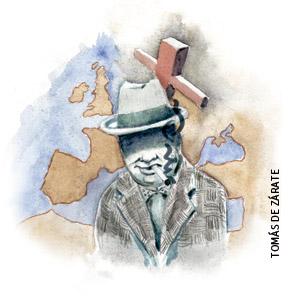 ilustración de Tomás de Zárate para el artículo de Francisco Vázquez 2930