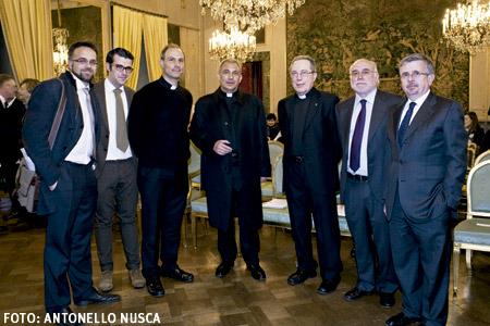 presentación en Roma de Donne Chiesa Mondo 24 marzo 2015. Foto: Antonello Nusca