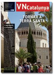 portada Vida Nueva Catalunya marzo 2015 Tornar a Terra Santa