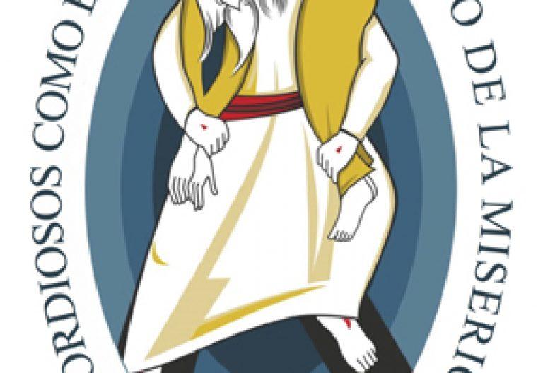 logo del Año Santo de la Misericordia Jubileo convocado por el papa Francisco 2015-2016