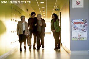 responsables de misión compartida Elías Royón, Leonor Ariño, Marcos Vidart y Julia García Monge, miembros del equipo coordinador de la jornada Juntos Somos Más 2015