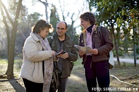 misión compartida religiosos y laicos de Jesús-María, Emma Guitart, José Manuel Gómez y Deborah Santamaría, rjm