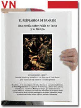 portada del Pliego El resplandor de Damasco, novela de Pedro Miguel Lamet 2932 marzo 2015