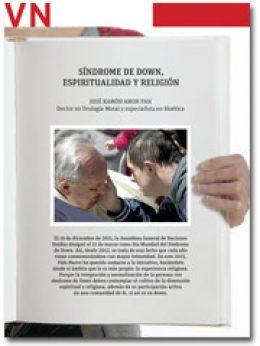 portada Pliego Síndrome de Down, espiritualidad y religión, 2934 marzo 2015