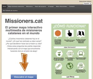 pantallazo web Missioners.cat