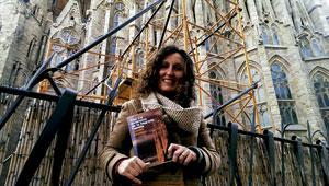 Carme Escales, periodista, autora de Tras los andamios de la Sagrada Familia