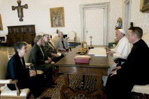 papa Francisco con las religiosas de Estados Unidos, LCWR, Conferencia de Religiosas Femeninas 16 abril 2015