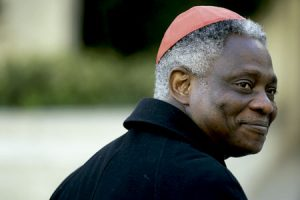 cardenal Peter Turkson, presidente del Pontificio Consejo Justicia y Paz