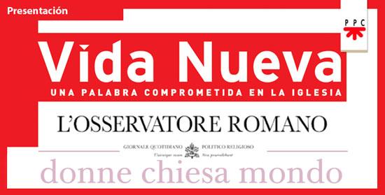 presentación Donne Chiesa Mondo en Madrid 23 abril 2015