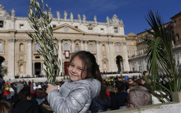 Domingo de Ramos 2015 en el Vaticano