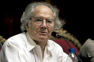 Adolfo Pérez Esquivel, activista argentino de los Derechos Humanos, Premio Nobel de la Paz en 1980