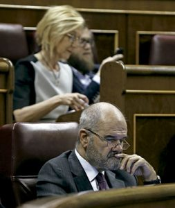 Manuel Chaves, expresidente de la Junta de Andalucía con el PSOE