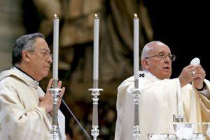 cardenal Óscar Andrés Rodríguez Maradiaga con el papa Francisco