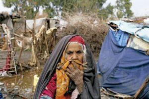 mujer palestina en Gaza