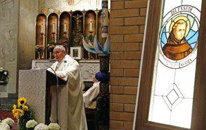 Misa con los obispos de EE.UU. por fray Junípero Serra