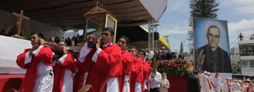 ceremonia de beatificación de monseñor Óscar Arnulfo Romero San Salvador 23 mayo 2015