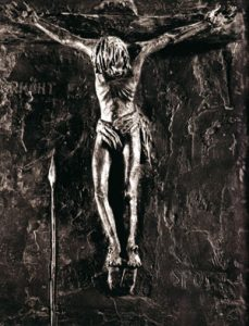 Escultura 'Pasión de Cristo', del artista alemán Werner Klenk