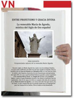 portada Pliego Venerable María de Ágreda
