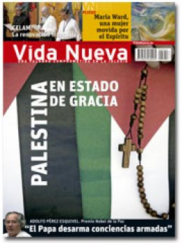 portada Vida Nueva Palestina en estado de gracia 2942 mayo 2015 pequeño