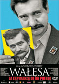 Caratula de la película  'Walesa. La esperanza de un pueblo'