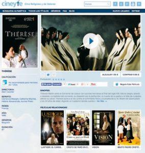 web de Cine y Fe
