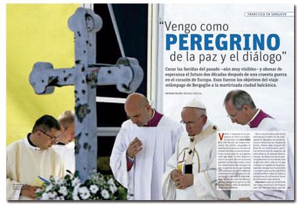 A fondo de Vida Nueva sobre la visita del papa Francisco a Sarajevo 6 junio 2015